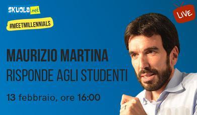 #MeetMillennials: Maurizio Martina risponde alle domande degli studenti