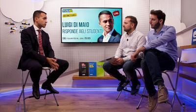 """Di Maio a Skuola.net: """"2019 anno del cambiamento. Incoraggiamo i giovani a restare nel nostro Paese"""""""