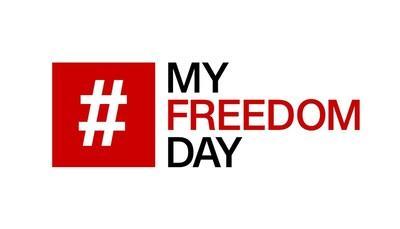 #MyFreedomDay: cos'è per te la libertà?
