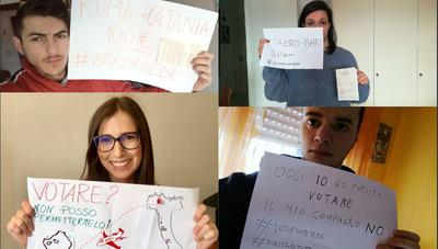 #Votofuorisede: la fotopetizione di Udu per il voto di chi studia lontano da casa