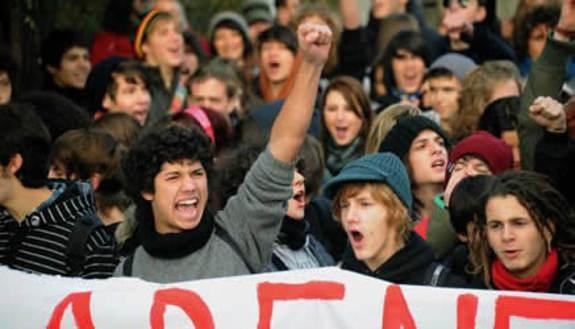 Guida alle manifestazioni studentesche
