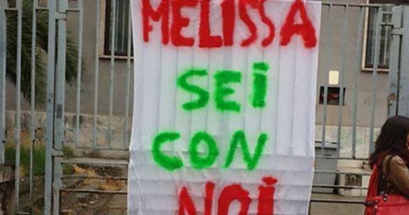 Io non ho paura, per Melissa e il nostro futuro
