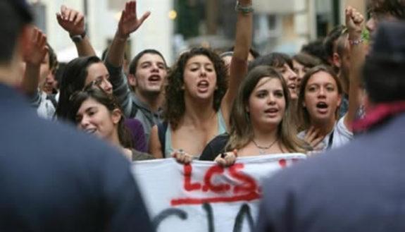 Oggi la scuola manifesta, la mappa delle proteste