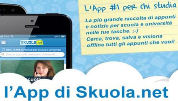 App per studenti: Skuola.net sul podio