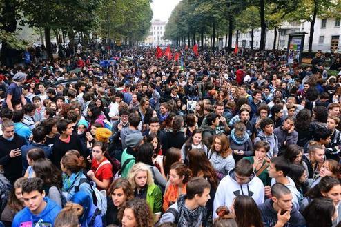 Studenti in protesta, da ottobre in piazza