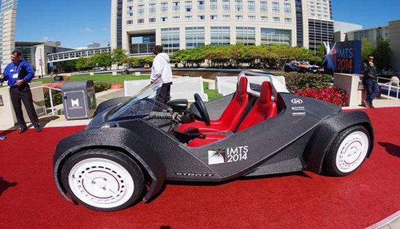 Ecco la prima auto 3D, stampata in 44 ore