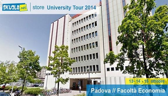Skuola.net University Tour: seguici a Padova
