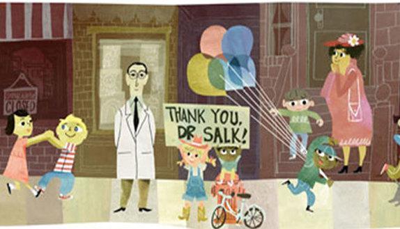 Auguri Jonas Salk, eroe di milioni di bambini