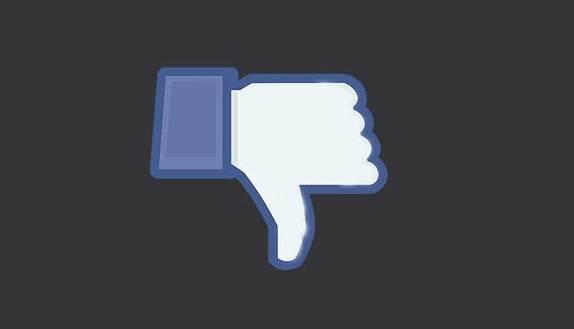 """Facebook: arriva il """"Non mi piace"""""""