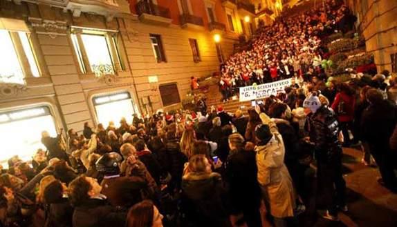 Concerto vietato, gli studenti si ribellano