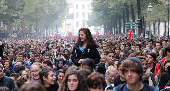 Sciopero studenti: 14 novembre di nuovo in piazza
