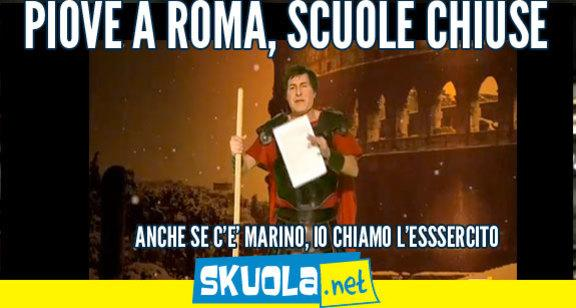 Allerta meteo: scuole chiuse a Roma e...