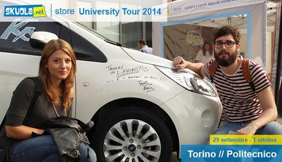 Skuola.net University Tour: 1° tappa Torino