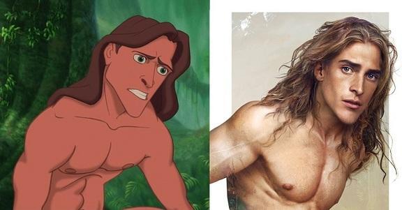 Se i personaggi della Disney fossero reali sarebbero così