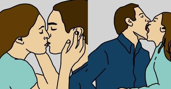 Come baciate? 10 tipi di bacio che svelano che tipo di coppia siete!