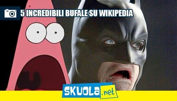 Studi su Wikipedia? Ecco 5 bufale incredibili