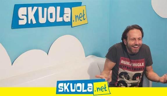 Alessandro Serra ospite in videochat su Skuola.net