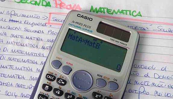 Tracce Seconda Prova maturità 2015: come usare calcolatrice scientifica