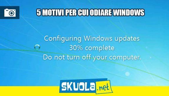 5 cose di Windows che ti hanno fatto impazzire