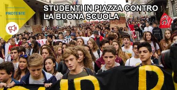 Sciopero 9 ottobre: studenti contro Buona Scuola