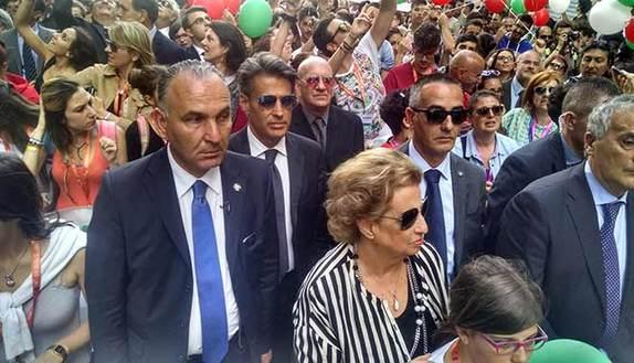 Giannini: tra i banchi, futuri Falcone e Borsellino
