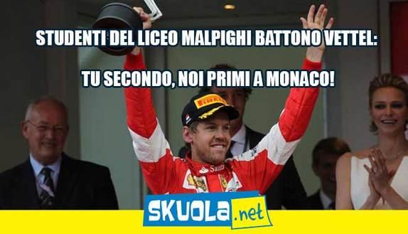 Studenti meglio di Vettel: vincono a Monaco