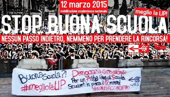 Manifestazione 12 marzo: le piazze della protesta