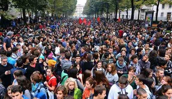 Manifestazione 5 maggio, le piazze della protesta