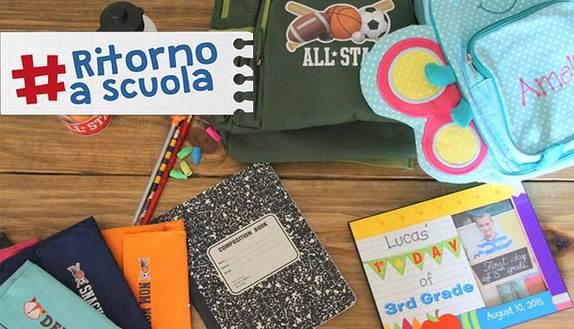 #Ritornoascuola: condividi il tuo back to school