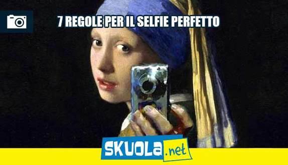 7 regole per fare un selfie perfetto