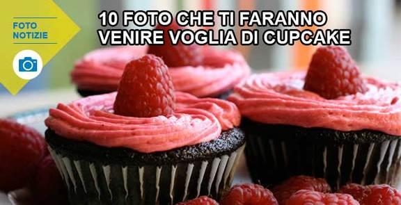 10 foto che ti faranno venire voglia di cupcake