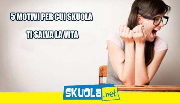 5 motivi per cui Skuola.net ti salva la vita