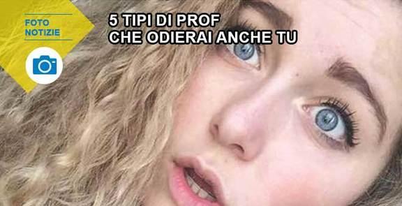 5 tipi di prof che odierai anche tu
