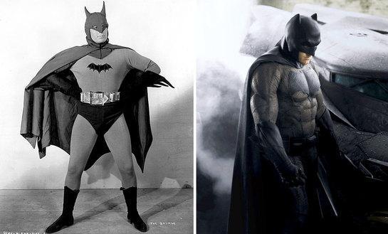 Come sono cambiati i supereroi nel corso del tempo: PRIMA e DOPO