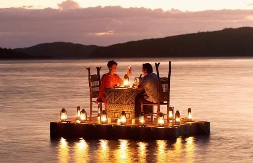 La cena romantica a misura studente