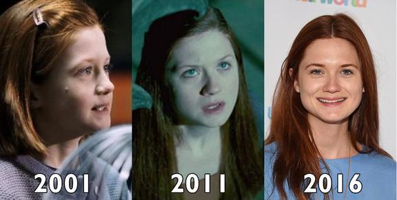 """Gli attori di """"Harry Potter"""" nel primo film, nell'ultimo e ora"""