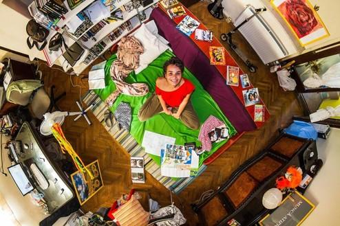 Come sono le camere dei Millennials in giro per il mondo?