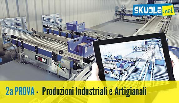 Seconda prova maturità 2016 Produzioni Industriali e Artigianali: tutte le tracce
