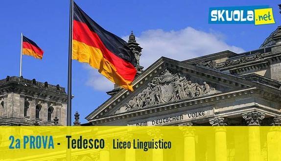 Soluzione seconda prova 2016 Linguistico: Tedesco