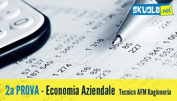 Soluzione seconda prova Economia Aziendale Maturità 2016 Ragioneria - Tecnico AFM