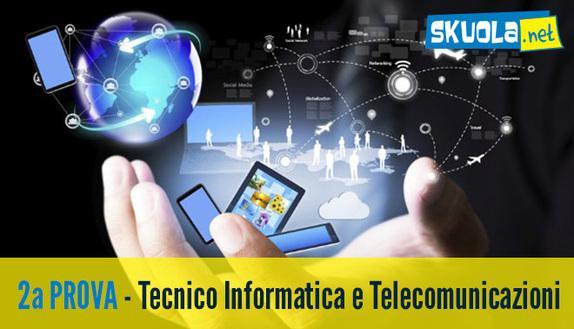 Soluzione Seconda prova Sistemi e Reti Maturità 2016 per il Tecnico Informatica e Telecomunicazioni