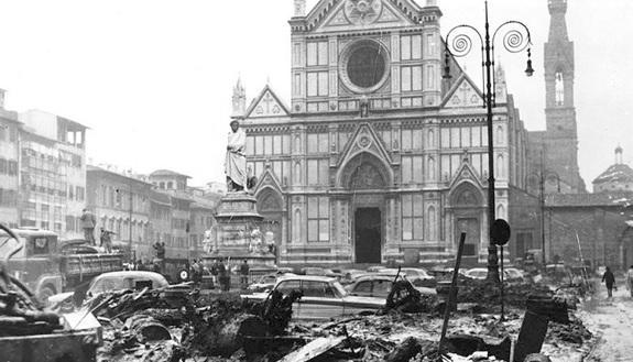 Alluvione di Firenze e angeli del fango: cosa è accaduto il 4 novembre 1966