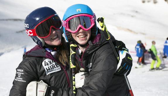 Campionati di sci: la scuola si fa sulla neve