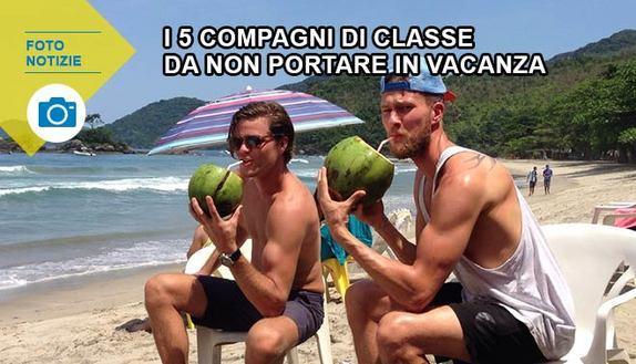 5 compagni di classe da non portare in vacanza