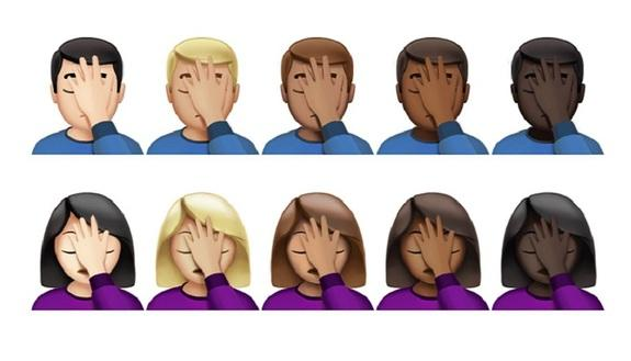 WhatsApp, in arrivo più di 70 nuove emoji: ci sono anche David Bowie e il facepalm