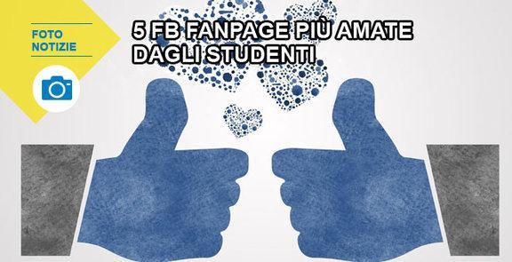 Le 5 pagine Facebook più amate dagli studenti