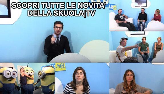 Novità Skuola|Tv: ricominciamo con il piede giusto