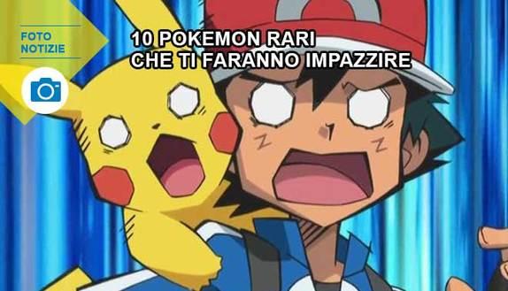 Pokémon GO: i 10 pokémon più rari che ti faranno impazzire