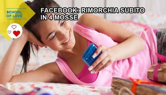 Sesso e amore su Facebook: rimorchia in 4 mosse