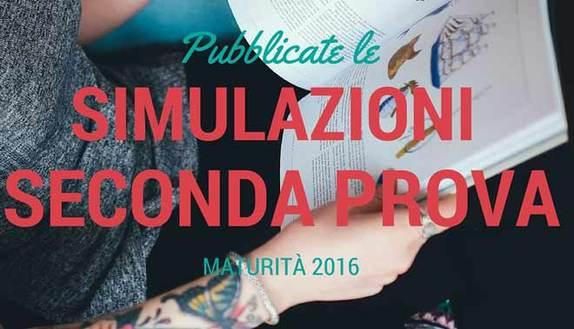 Seconda prova maturità 2016: le simulazioni per licei, tecnici e professionali